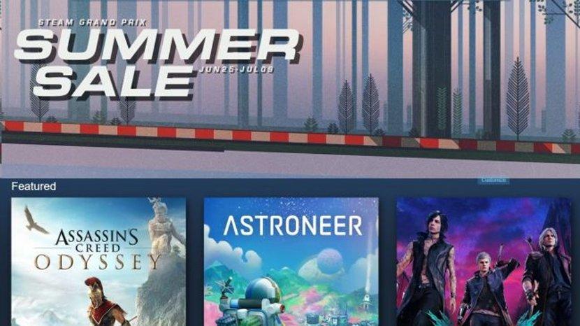 Steam, Summer Sale, Video games, Deals