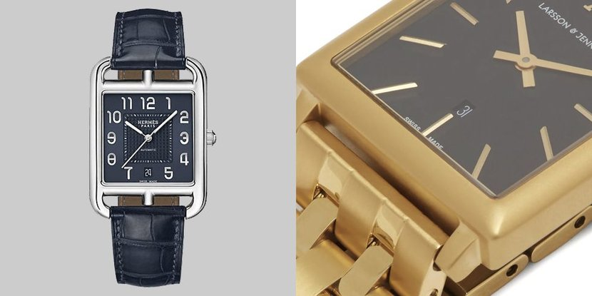 Best watches, Baume & Mercier, Hermes, Tom Ford, Cartier, Bell & Ross, Tag Heuer, Evergreen