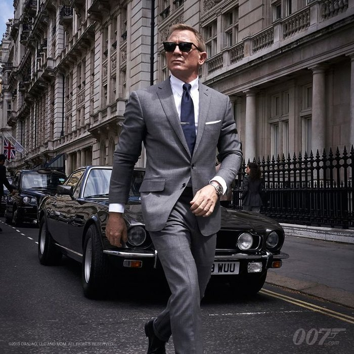 James Bond, 007, Spy, Aston Martin, Bespoke Suits