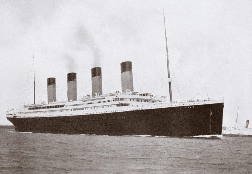 Titanic, Auction