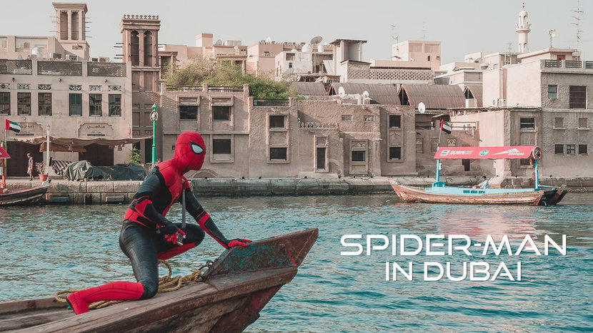 Spiderman, Marvel, Dubai