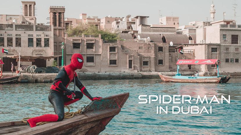 Spiderman, Marvel, Dubai
