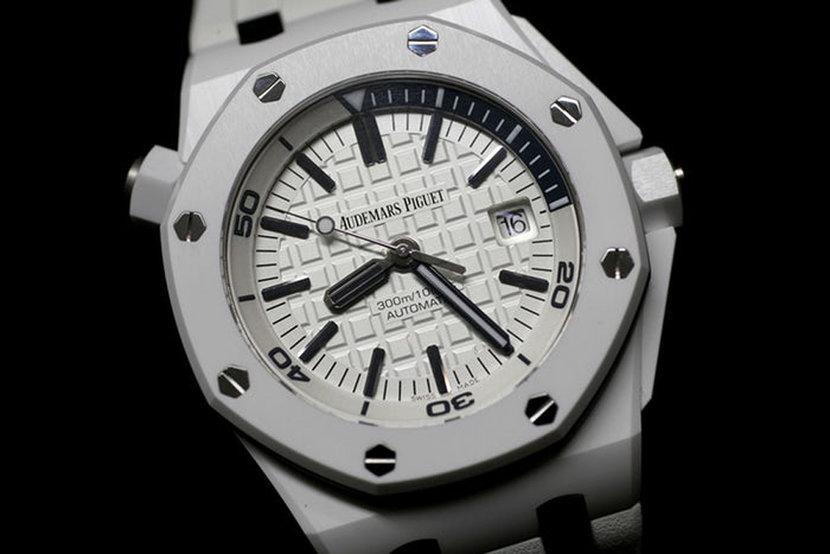 Watches, White watches, List