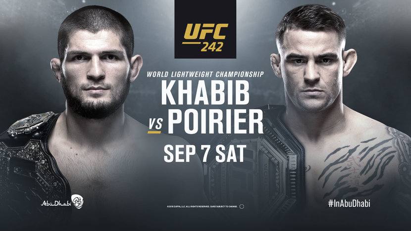 Esquire Updates UFC, Abu dhabi, Fight night, Khabib Nurmagomedov, Dustin poirier