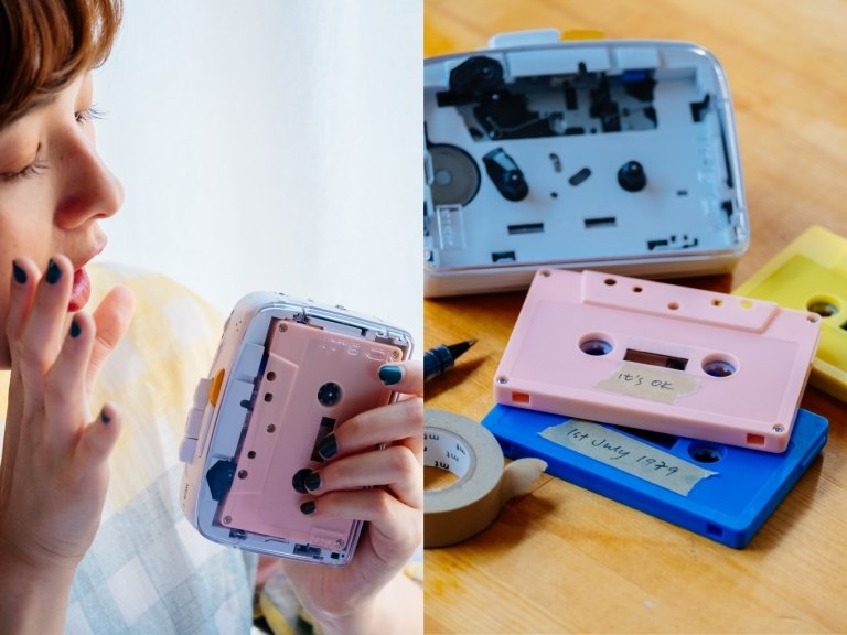 Sony Walkman, NINM Lab, Cassette Player, Technology