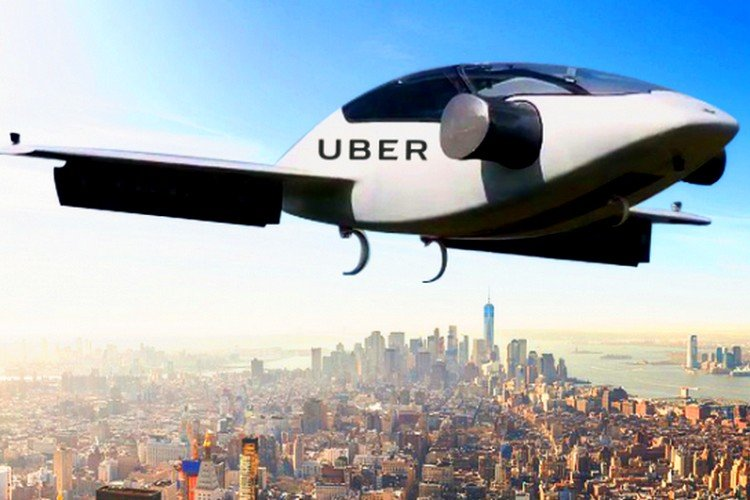 Uber, Flying Cars, Helicopter