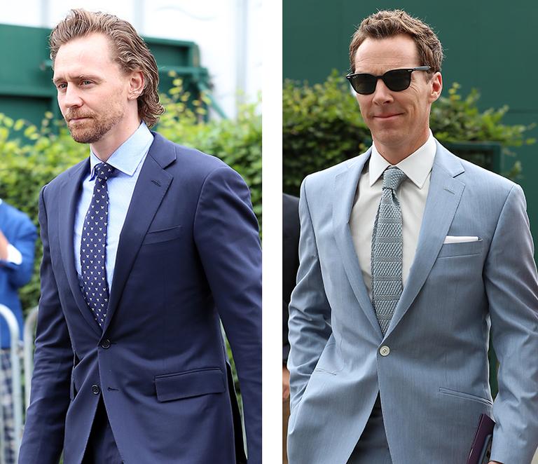 Celebrity Style, Benedict Cumberbatch, Tom Hiddleston