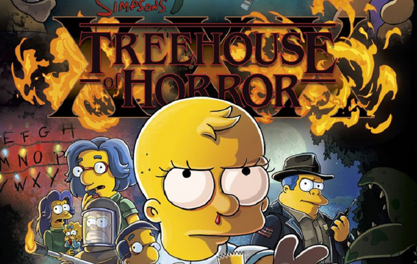 Stanger things, The Simpsons, TV, Halloween