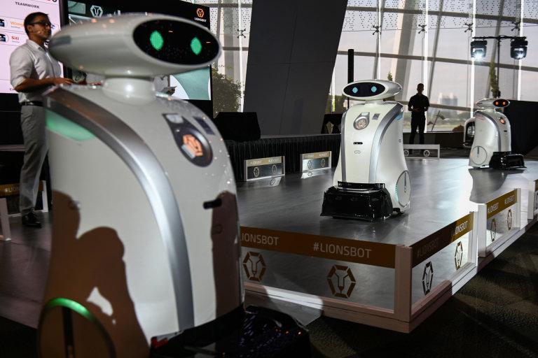Robots, Singapore, Smart City