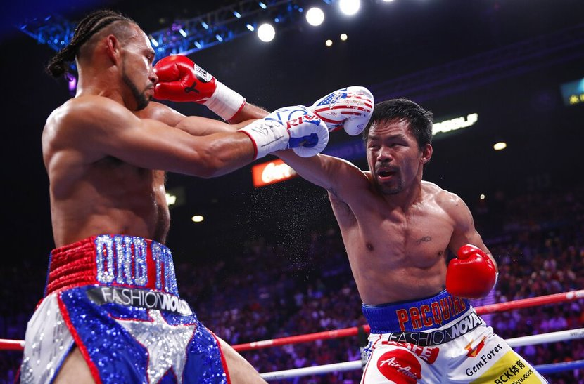Manny Pacquiao, Keith Thurman, Boxing
