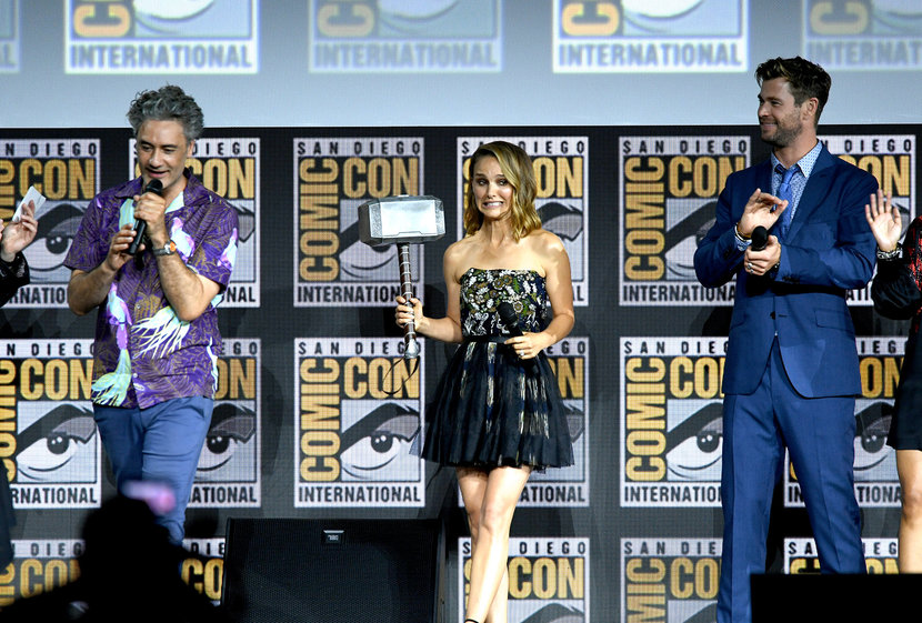 Thor, Thor: Love and Thunder, Female Thor, Natalie Portman, Chris Hemsworth