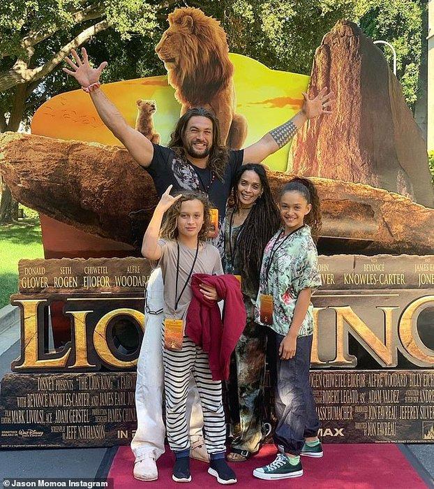 Jason Momoa, The Lion King, Disney, Celebrity