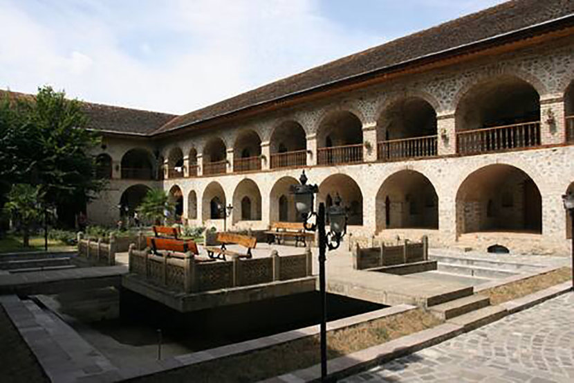 Historic Centre of Sheki - Located at the foot of the Greater Caucasus Mountains in Azerbaijan, the historic city center of Sheki is was rebuilt after the destruction of an earlier town by mudflows in the 18th century. The city's architecture is influenced by Safavid, Qadjar and Russian building traditions.