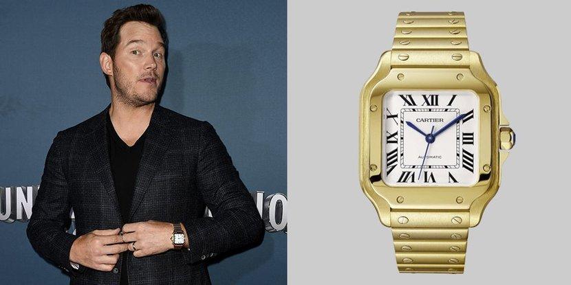Celebrity Style, Chris Pratt, Cartier