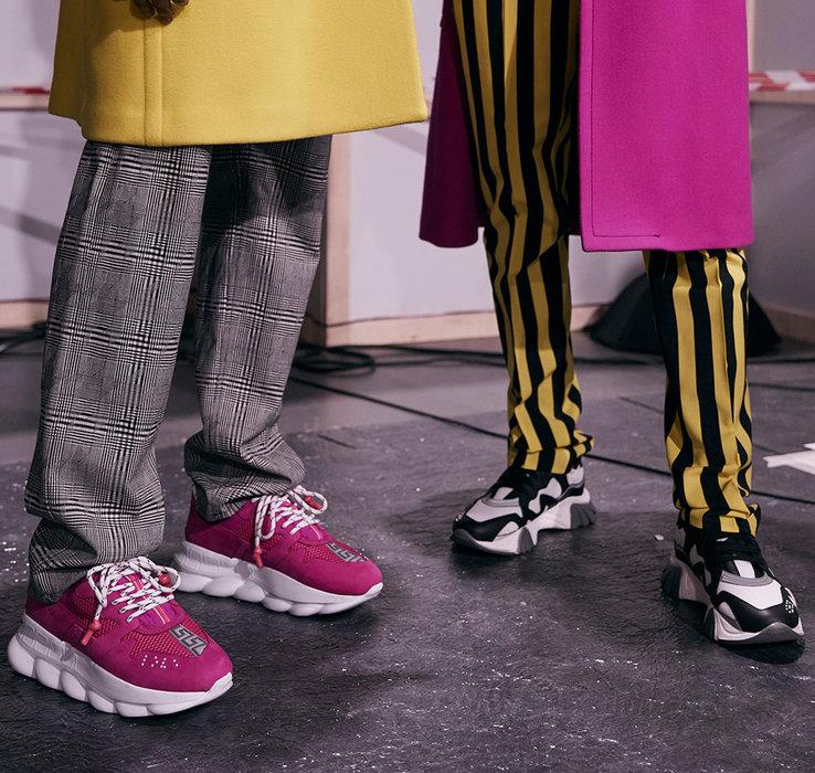 Versace, Sneakers, Style