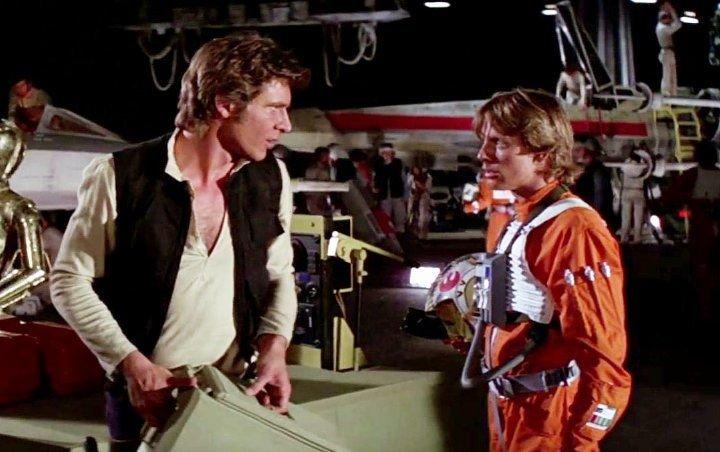Star wars, Mark Hamill, Harrison Ford