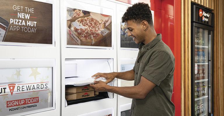Pizza Hut, Technology, Pizza