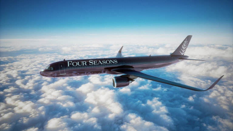 Four Seasons, Private Jet, Travel