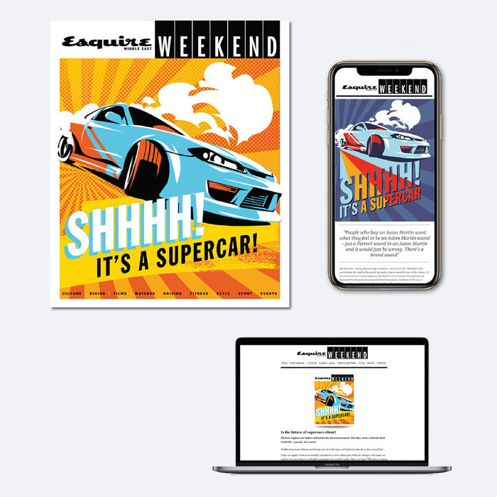 Esquire Weekend, Future of Supercars