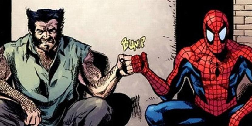 Marvel, Spider-Man, Deadpool, Wolverine