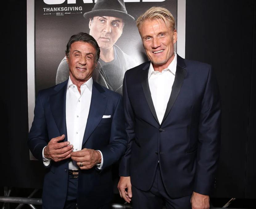 Dolph Lundgren, Sylvester Stallone, The International, TV