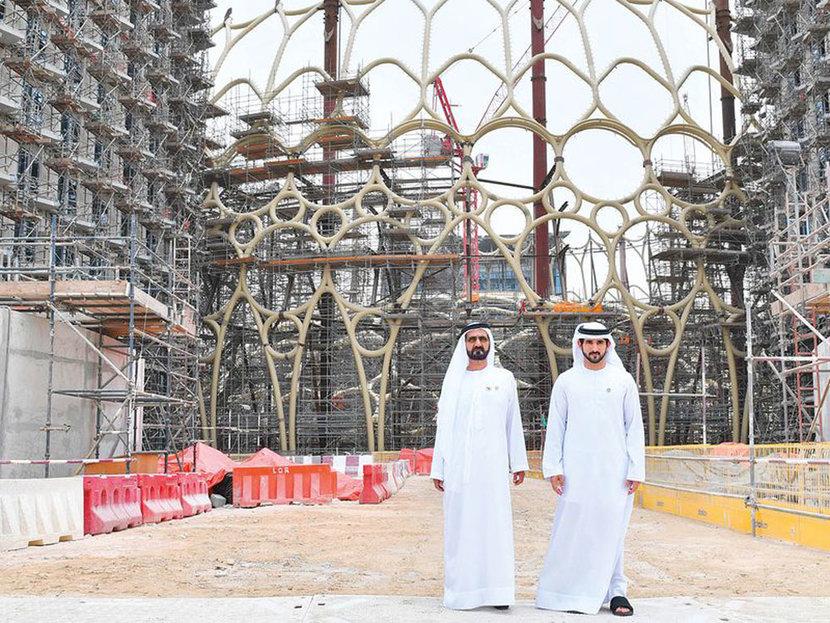 Sheikh Mohammad Bin Rashid Al Maktoum, Sheikh Hamdan, Expo 2020 Dubai