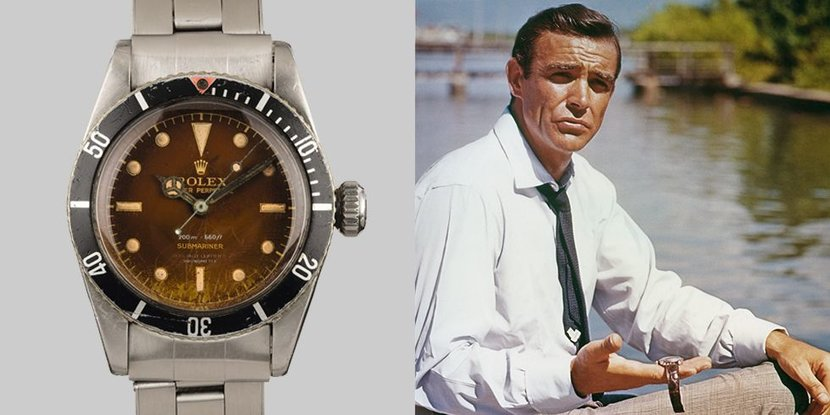 Rolex, James Bond, Sotheby's, Auction