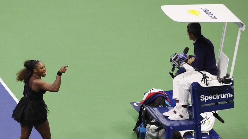 Serena Williams, US Open, CArlos Ramos, Umpire