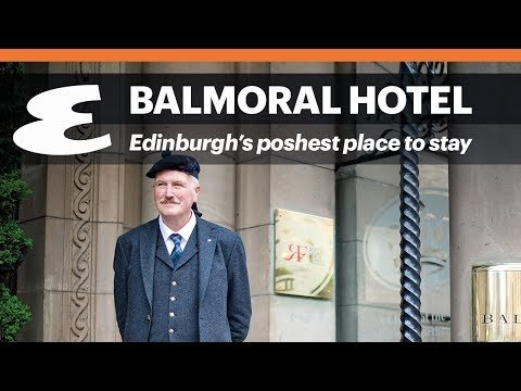 Balmoral hotel, Edinburgh, Travel, Scotland, Edinburgh Fringe Festival