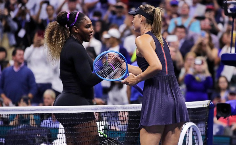 Serena Williams, US Open, MAria Sharapova