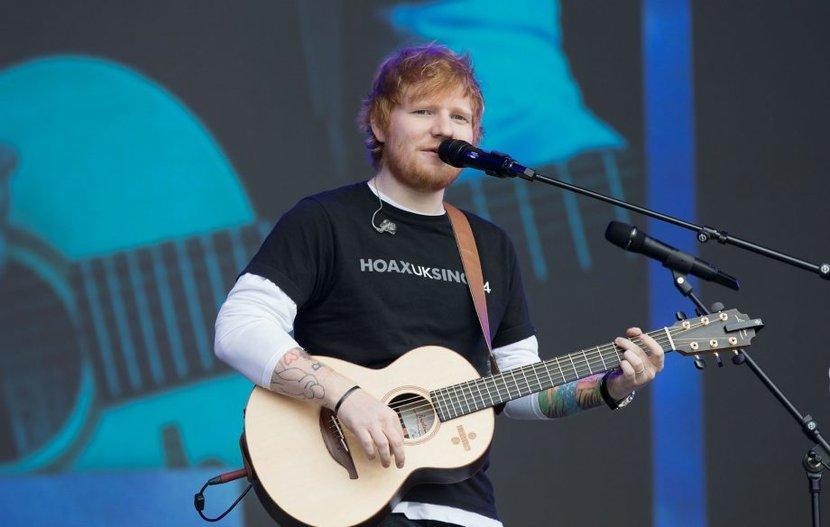Ed sheeran, Divide tour, Music