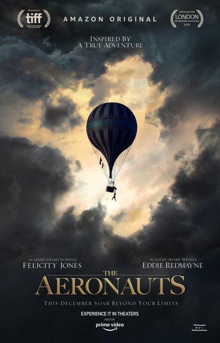 The Aeronauts, Eddie Redmayne, Felicity Jones