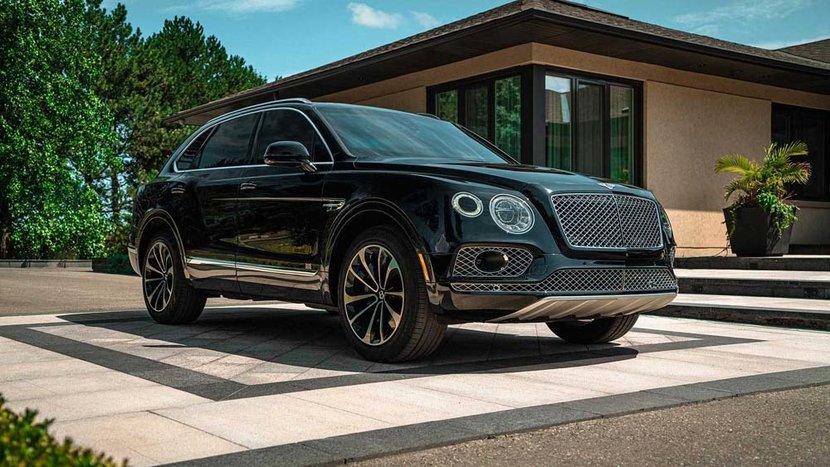 Bentley, Bentley Bentayaga, SUV, Luxury