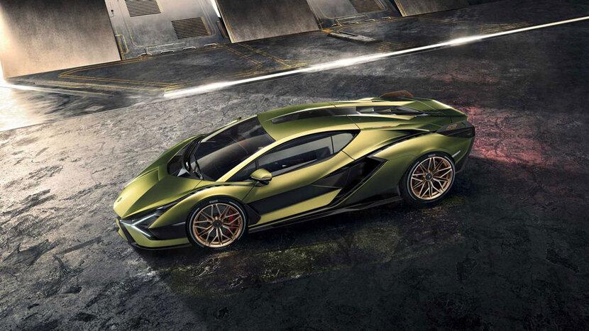 Lamborghini, Supercar, Hybrid, Frankfurt motor show