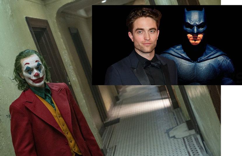 Batman, Joker, Joaquin Phoenix, Robert Pattinson