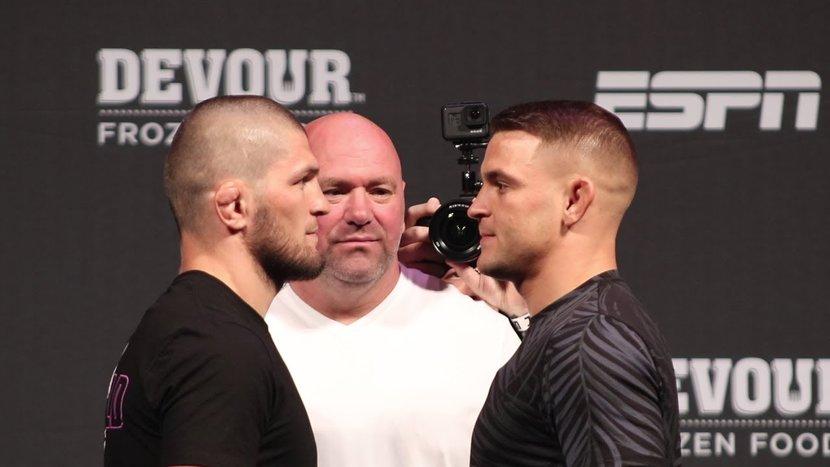UFC 242, Khabib Nurmagomedov, Dustin poirier