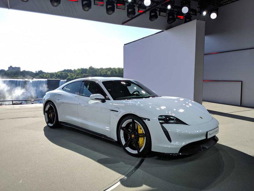Porsche teycan, Porsche, Electric car