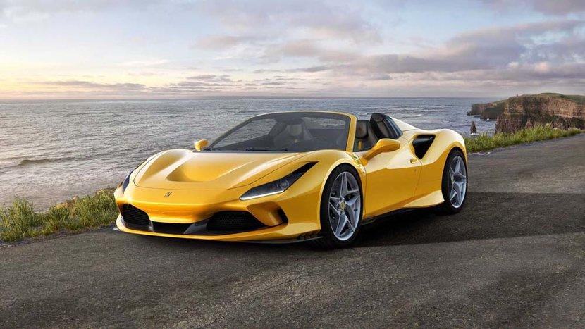 Ferrari, F8 Spider, Supercar