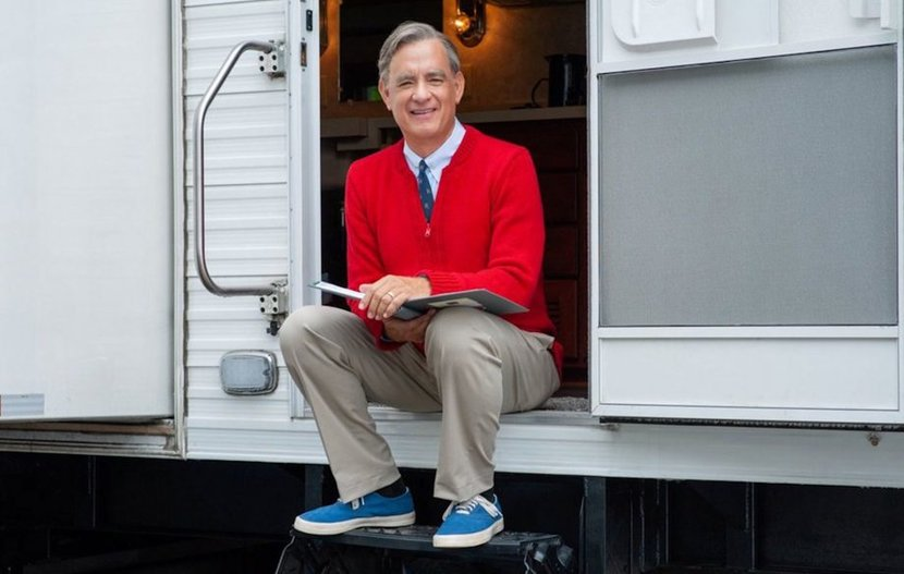 A beautiful day in the neighbourhood, Fred rogers, Tom Hanks