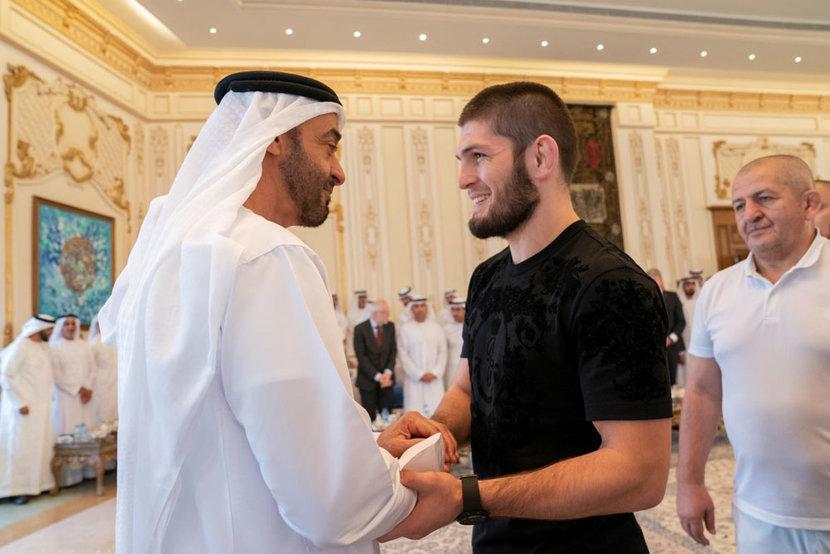 Khabib Nurmagomedov, UFC, Sheikh mohamed