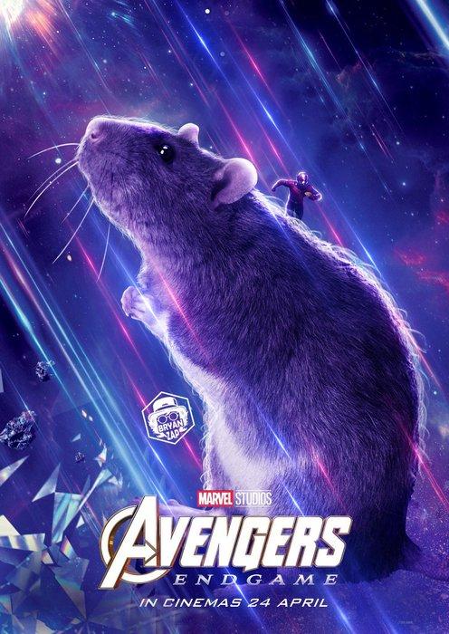 The Rat, Marvel, Avengers Endgame