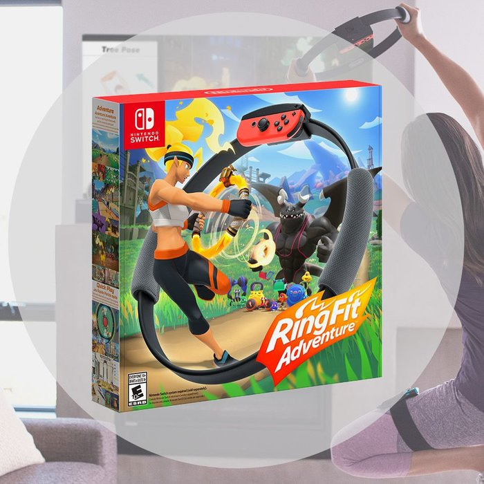 Nintendo, Ring Fit Adventure, Nintendo Switch, Videogames