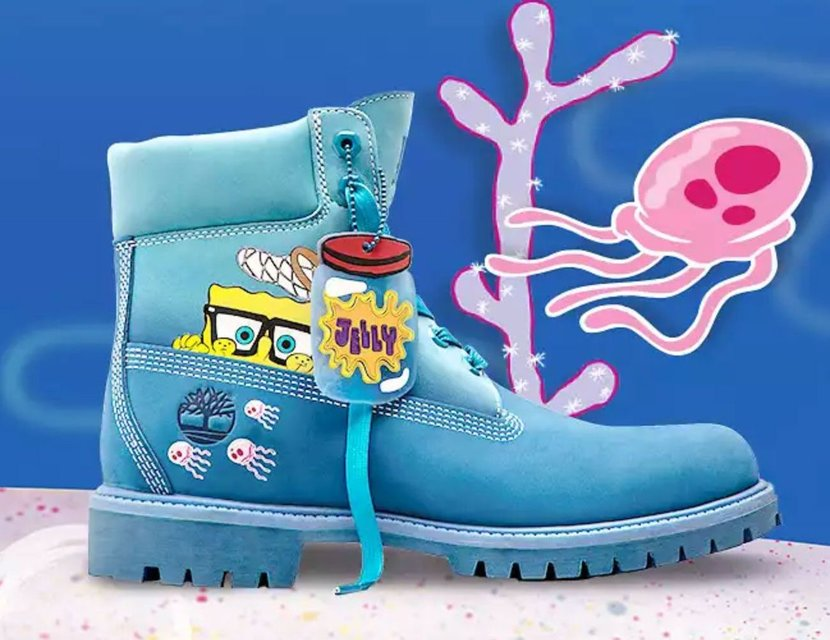Timberland, Spongebob Squarepants, Collaborations, Shoes