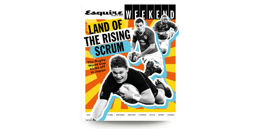 Rugby world cup, Esquire Weekend