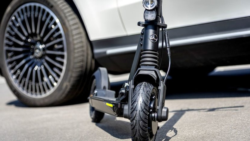 Mercedes-Benz, BMW, Audi, E-scooters