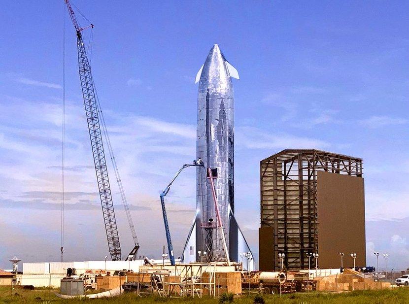 Space X, Elon musk, Starship mk1