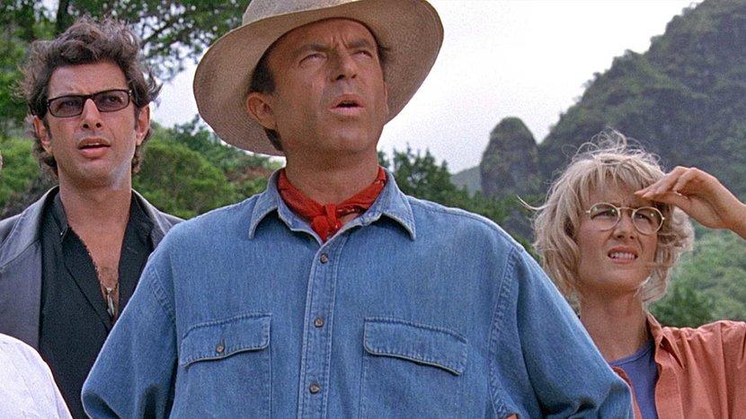 Jurassic park, Jeff Goldblum, Jurassic World