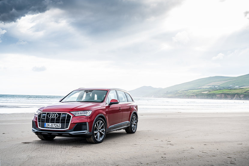 Audi, Q7, 2020