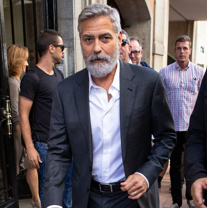 George Clooney, Celebrity Style, Beard, Grooming