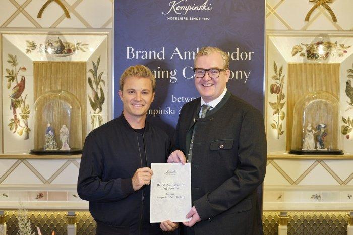 Nico Rosberg, Kempinski Hotels
